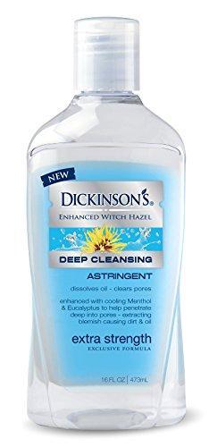 Dickinson's Dickinson's Enhanced Witch Hazel Extra Strength Deep Cleansing Astringent, 16 Fluid Ounce