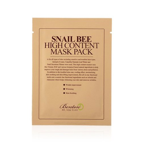 BENTON - BENTON Snail Bee High Content Mask Pack