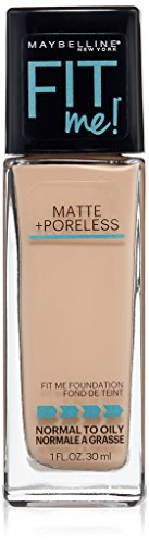Maybelline New York - Maybelline New York Fit Me Matte Plus Poreless Foundation, Creamy Beige, 1 Fluid Ounce