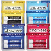 null - Chap-Eze Lip Balm Variety Pack (2 each 4 colors)