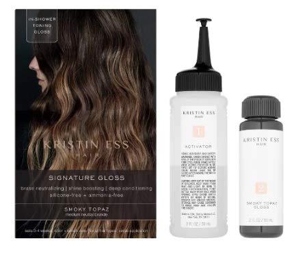 Kristin Ess - Kristin Ess Hair Signature Gloss Temporary Hair Color - Smoky Topaz, pack of 1