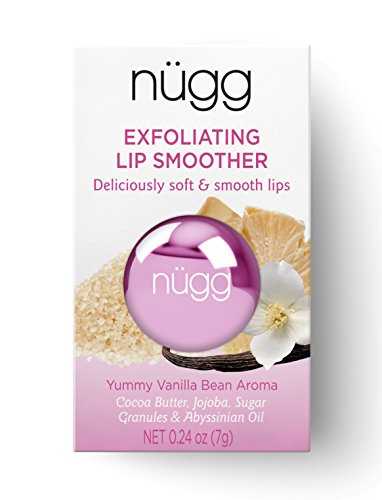 nugg - nügg SUGAR LIP SCRUB and LIP EXFOLIATOR for Smooth and Soft Lips; ALL NATURAL, VEGAN and CRUELTY-FREE; 0.24oz