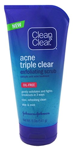 Clean & Clear - Acne Triple Clear Scrub Exfoliating