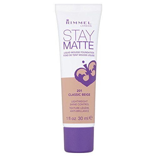 Rimmel London - Rimmel London Stay Matte Liquid Mousse Foundation - 201 Classic Beige
