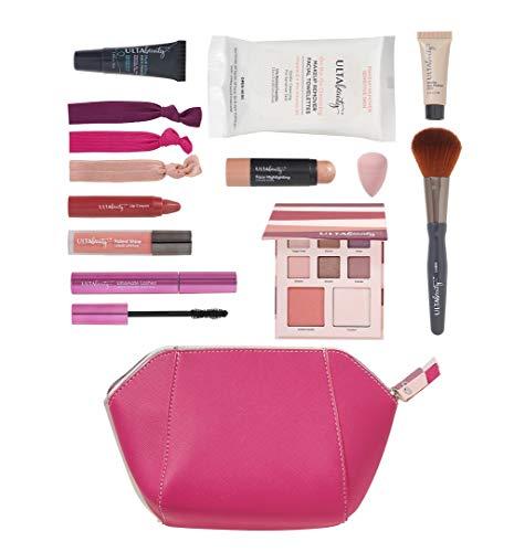Ulta Beauty - Ulta Beauty 12 Pc Make Up Gift Set. Pink Bag.