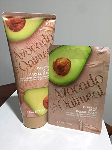 CVS - Avocado and Oatmeal Purifying Clay Facial Mask
