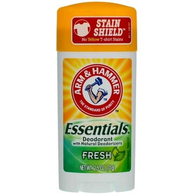 Arm & Hammer - ARM & HAMMER Essentials Natural Deodorant Fresh, 2.50 Oz