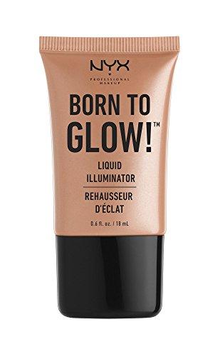 NYX - NYX Professional Makeup Born to Glow Liquid Illuminator, Gleam, 0.6 Ounce
