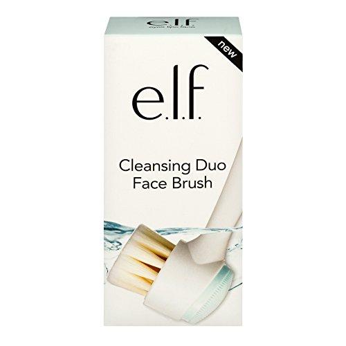 e.l.f. Cosmetics - E.L.F. Cosmetics Cleansing Duo Face Cosmetic Brush, 4 Ounce