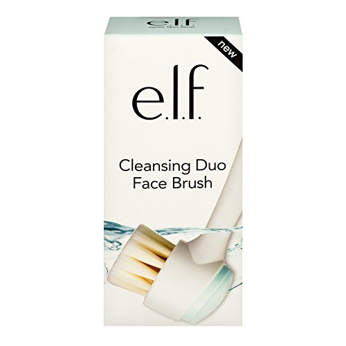 e.l.f. Cosmetics - E.L.F. Cosmetics Cleansing Duo Face Cosmetic Brush, 4 Ounce