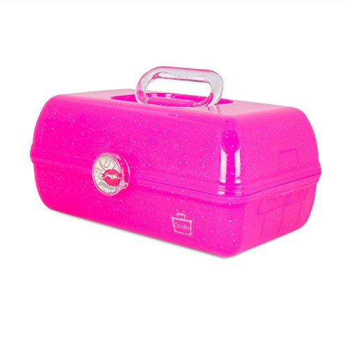 Caboodles - Caboodles On The Go Girl Classic Case, Pink Sparkle, 2.4 Pound