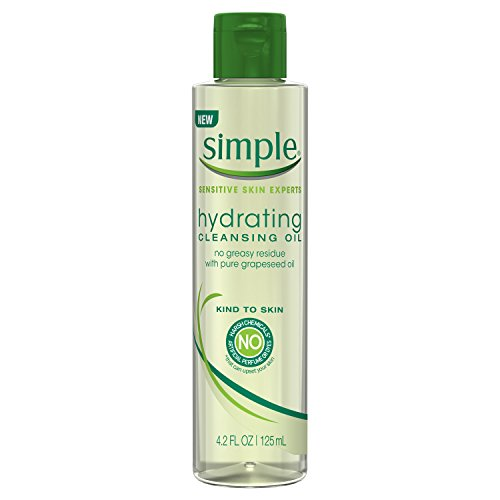 SIMPLE FACE Simple Kind to Skin Hydrating, Cleansing Oil, 4.2 oz