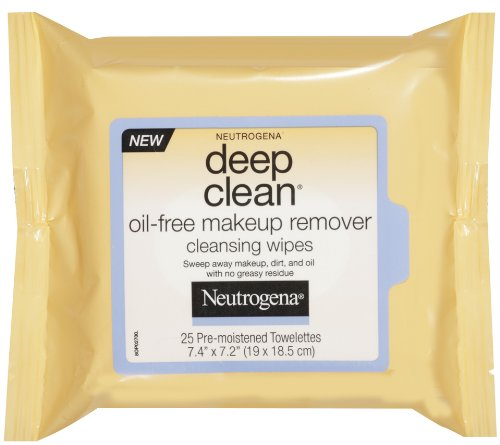 Neutrogena - Deep Clean Oil Free Makeup Remover Cleansing Wipes