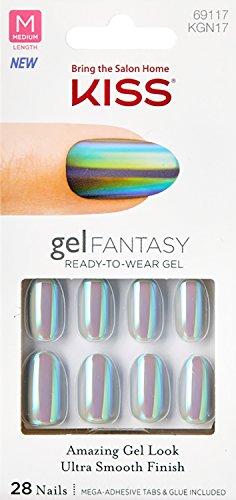 Kiss - Gel Fantasy Medium Oval Nails