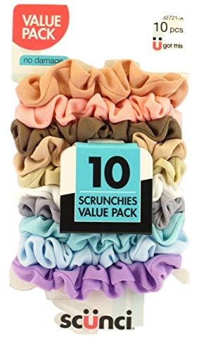 Scunci - Scunci Value Pack No Damage Scrunchies - 10 Pcs.