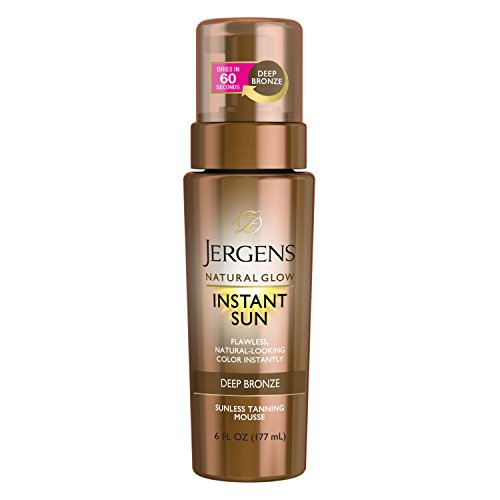 Jergens Natural Glow Instant Sun Sunless Tanning Mousse
