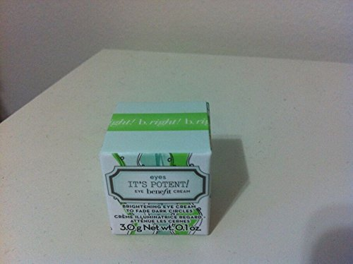 Benefit Cosmetics - New Benefit It's Potent! Eye Cream Travel Size 3g/0.1 Oz. New in Box