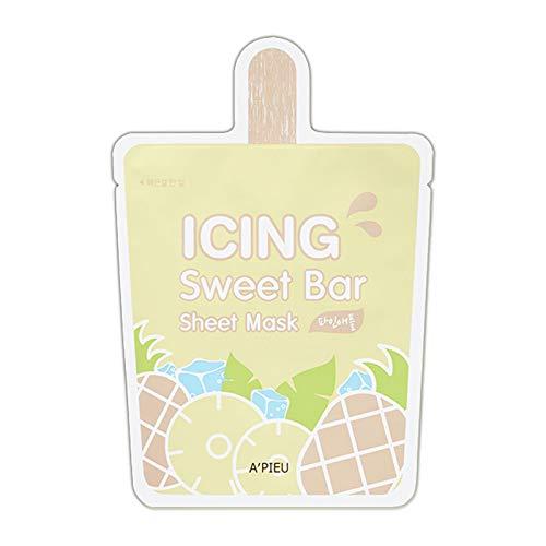 APIEU - A'PIEU Icing Sweet Bar Sheet Mask 21g (Pineapple 1EA)