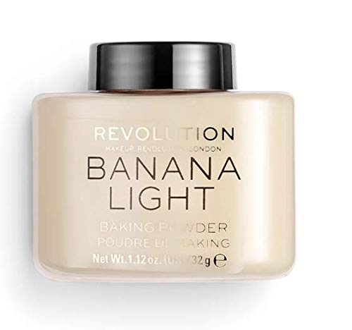 Makeup Revolution - Loose Baking Powder, Banana Light