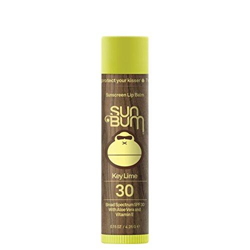 Sun Bum - Sun Bum Key Lime Sunscreen Lip Balm, SPF 30, 0.15 oz Stick, 1 Count, Broad Spectrum UVA/UVB Protection, Hypoallergenic, Paraben Free, Gluten Free, Vegan