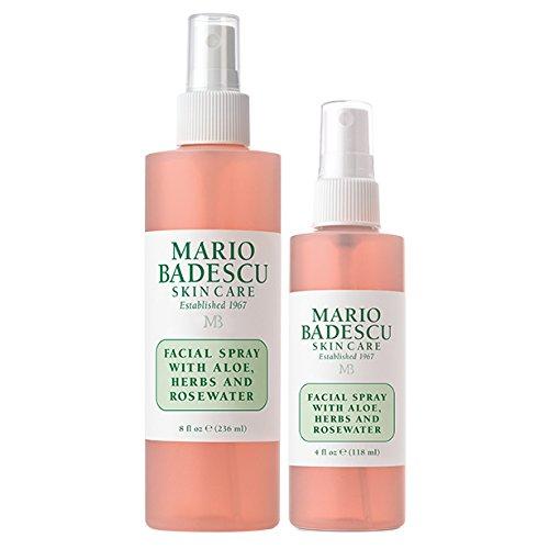 Mario Badescu - Mario Badescu Facial Spray with Aloe, Herbs & Rosewater Duo, 4 oz. & 8 oz.