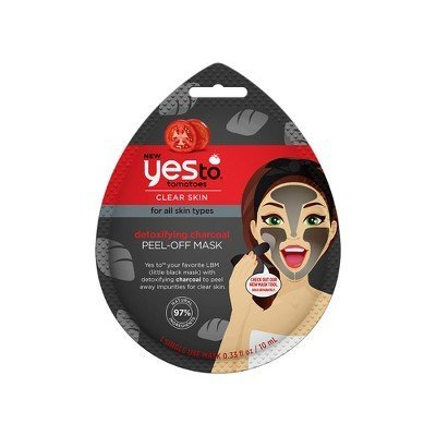 Yes to - Tomatoes Clear Skin Detoxifying Charcoal Peel Off Mask
