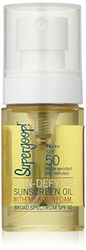 Supergoop! - Supergoop! Sun-Defying Sunscreen Oil with Meadowfoam SPF 50, 1 fl. oz.