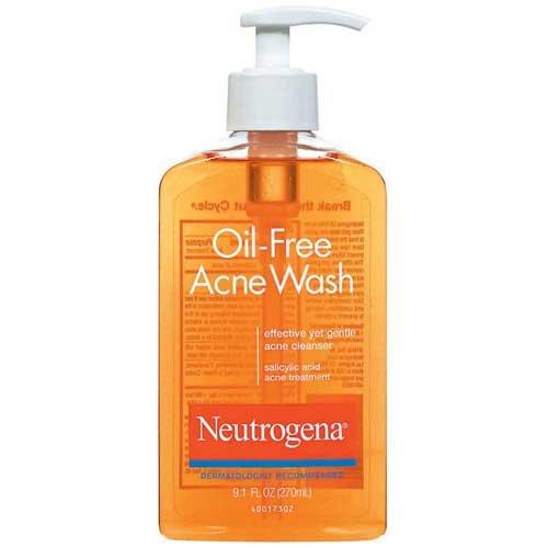 Neutrogena - Oil Free Acne Wash