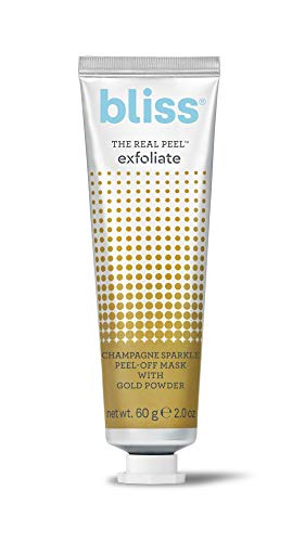 bliss - Bliss - The Real Peel Exfoliate Peel Off Mask | AHA Glycolic Acid Peel for Exfoliating & Brightening| Balancing Exfoliator for Facial Spot Treatment | Vegan | Cruelty Free | Paraben Free | 2.0 oz.