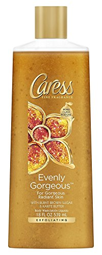 Caress - Caress Evenly Gorgeous Exfoliating Body Wash 18 oz (Pack of 2)