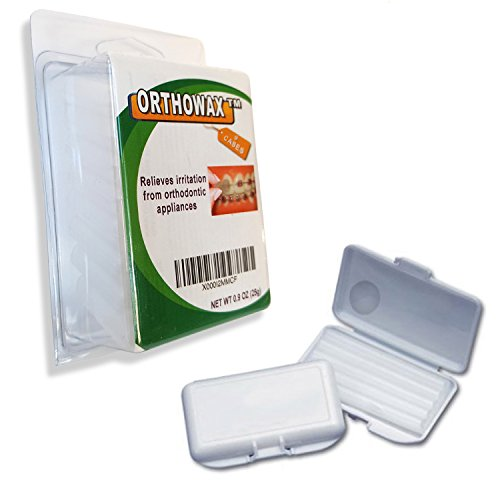Orthomechanic - Genuine Orthowax - Our Bestseller Orthodontic Wax For Braces Wearer - Stick Better than competitors