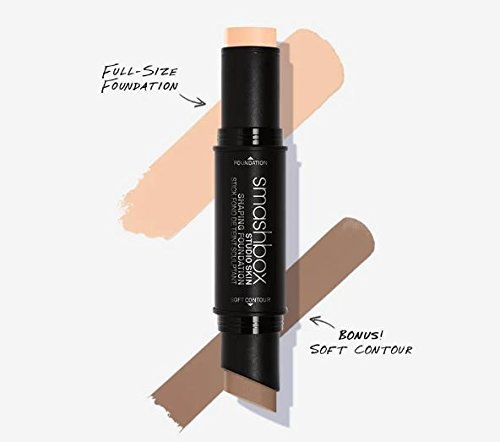 Smashbox Skin Shaping Foundation Stick 1.0 Peach Fair + Soft Contour