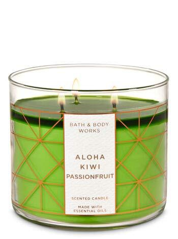 White Barn 3 Wick Aloha Kiwi Passionfruit Candle