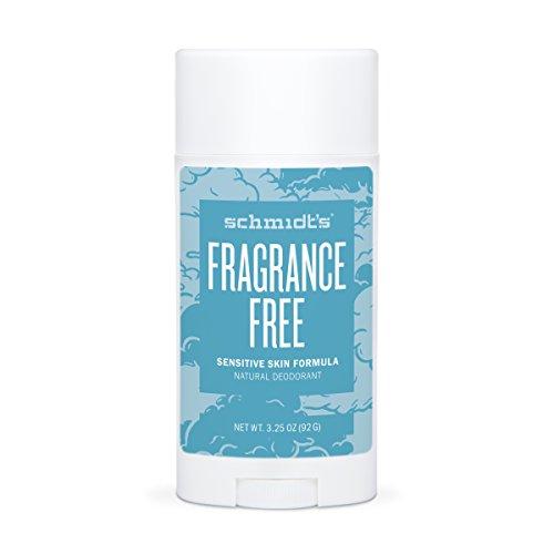 Schmidt's Deodorant - Schmidt's Natural Deodorant for Sensitive Skin - Fragrance-Free, 3.25 ounces. Stick for Women and Men