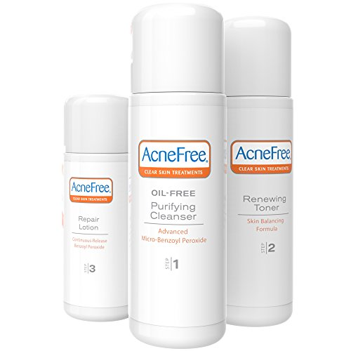 AcneFree - AcneFree 3 Step 24 Hour Acne Treatment Kit