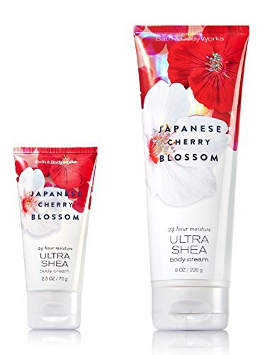 Bath & Body Works - Japanese Cherry Blossom ULTRA SHEA Body Cream Set