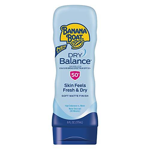 Banana Boat - Banana Boat Sunscreen Dry Balance Broad Spectrum Sunscreen Lotion, SPF 50+ - 6 Ounce