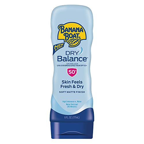 Banana Boat - Banana Boat Sunscreen Dry Balance Broad Spectrum Sunscreen Lotion, SPF 50+ - 6 Ounce