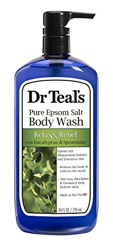 Dr Teal's - Dr Teal's Ultra Moisturizing Body Wash Relax and Relief with Eucalyptus Spearmint, 24 Fluid Ounce