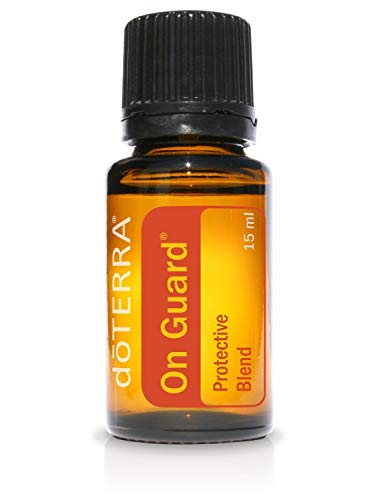 doTERRA - doTERRA - On Guard Essential Oil Protective Blend - Supports Healthy Immune and Respiratory Function, Supports Natural Antioxidant Defenses; For Diffusion, Internal, or Topical Use - 15 mL