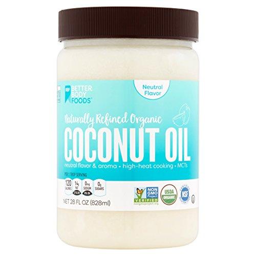 BetterBody Oil Coconut Naturally Refine