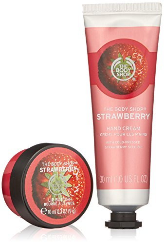 The Body Shop The Body Shop Strawberry Soft Hands Warm Kisses Duo Gift Set