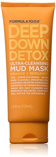 Formula Ten-O-Six - Formula Ten O Six Deep Down Detox Facial Masks, 3.4 Fluid Ounce