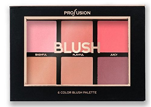 Profusion - 6 Color Blush Palette, Studio Icon Collection