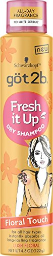 Got2B - Got2b Fresh It Up Dry Shampoo Floral Touch, 4.3 Ounce