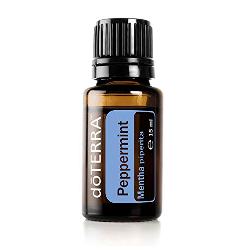 doTERRA - doTERRA Peppermint Essential Oil - Promotes Clear Breathing, Healthy Respiratory Function, and Digestive Health; For Diffusion, Internal, or Topical Use - 15 ml