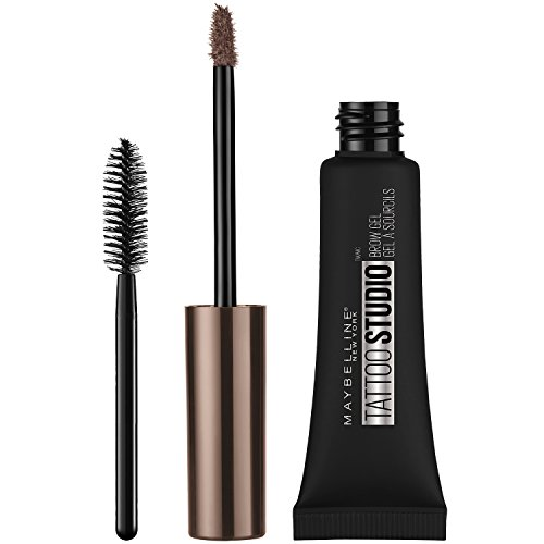 Maybelline New York - Maybelline Makeup TattooStudio Waterproof Eyebrow Gel, Soft Brown Eye Brow Shade, 0.23 fl oz