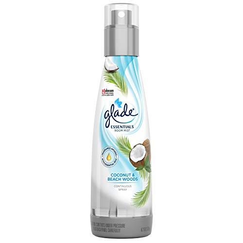 Glade - Glade Coconut & Beach Woods Essentials Room Mist, 6.2 oz
