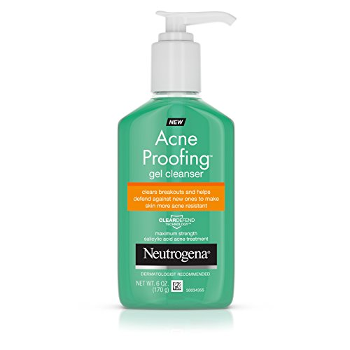 Neutrogena - Acne Proofing Daily Facial Gel Cleanser with Salicylic Acid