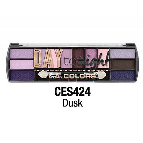 L.A. Colors - Day to Night Eyeshadow Palette, Dusk
